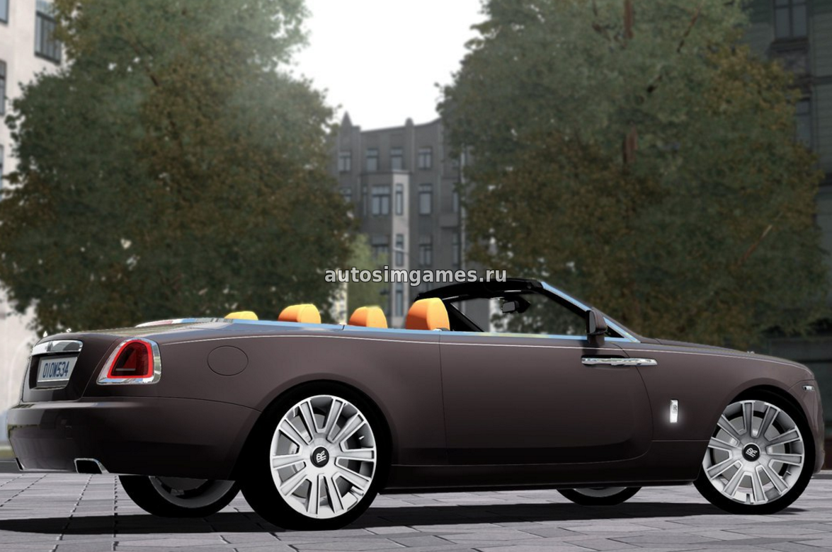 Rolls Royce Dawn для City Car Driving 1.5.3