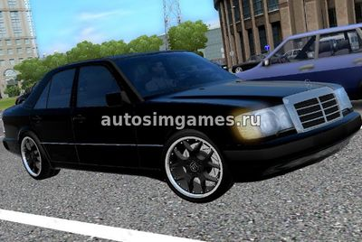 Mercedes-Benz E320 W124 для City Car Driving 1.5.4