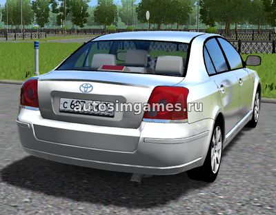 Toyota Avensis для City Car Driving 1.5.2