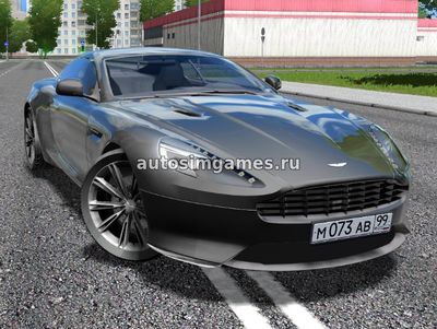 Aston Martin Virage 2012 для City Car Driving 1.5.2