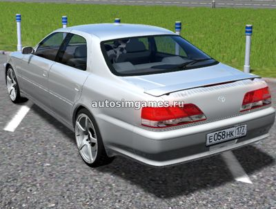 Toyota Cresta 1JZ для City Car Driving 1.5.2