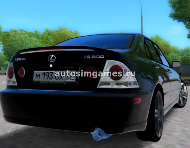 Машина Lexus IS300 Tuning для 3d Инструктор 2.2.7 скачать мод