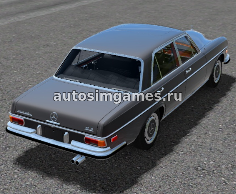 Mercedes Benz 300SEL для City Car Driving (CCD) 1.5.4
