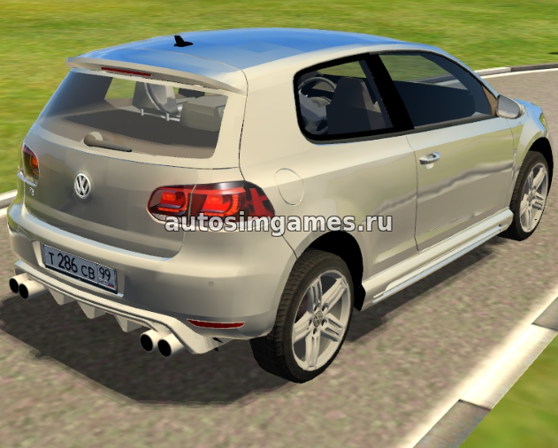Немецкое авто Volkswagen Golf R10 для 3д инструктор 2.2.7