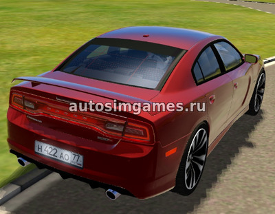 Dodge Charger SRT-8 для 3д инструктор 2.2.7