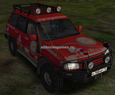 Toyota Land Cruiser 105 beta для Omsi 2