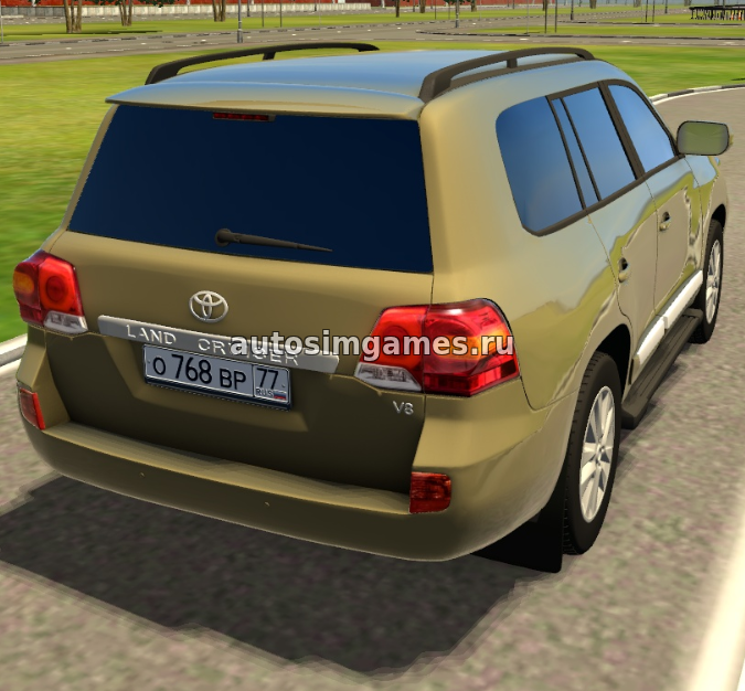 Toyota Land Cruiser 200 V8 для 3d инструктор 2.2.7