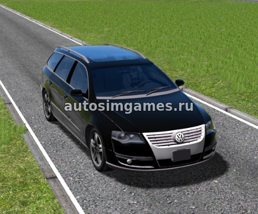 Volkswagen Passat B6 Variant для City Car Driving 1.5.4 Универсал с хо