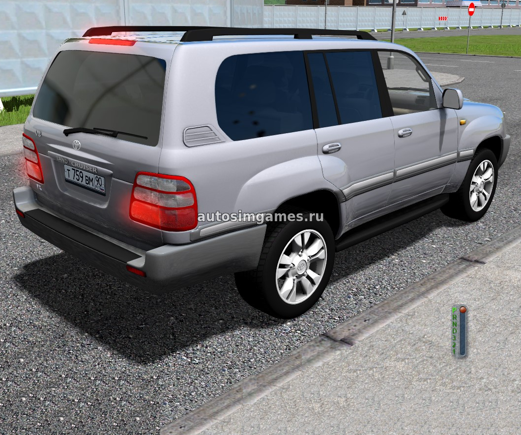 Японское авто Toyota Land Cruiser J100 2005 для City Car Driving 1.5.5