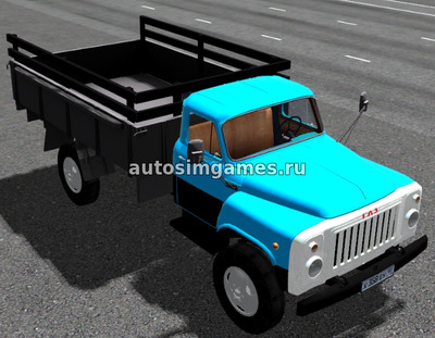 Газ-53 для City Car Driving 1.5.4