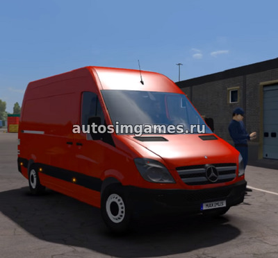Mercedes-Benz Sprinter 2009 для ETS 2 V1.30