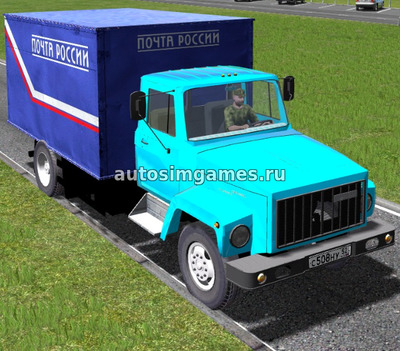 Газ-3309 для City Car Driving 1.5.5