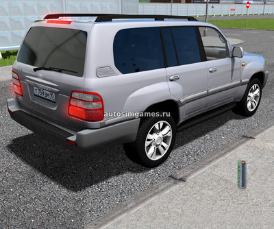 Toyota Land Cruiser J100 2005 для City Car Driving 1.5.5