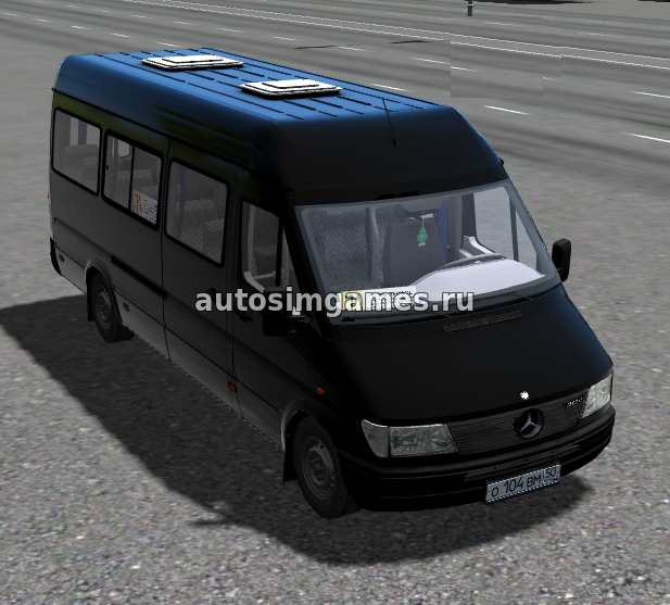 Mercedes-Benz Sprinter 312D для City Car Driving 1.5.5