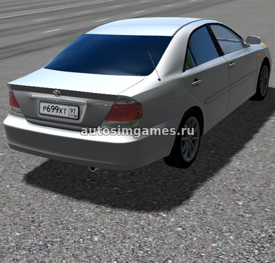 Toyota Camry 2.4 V30 для City Car Driving 1.5.5