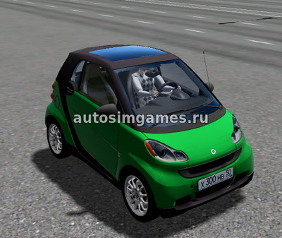 Smart Fortwo для City Car Driving 1.5.5