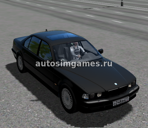 BMW 750IL для City Car Driving 1.5.5