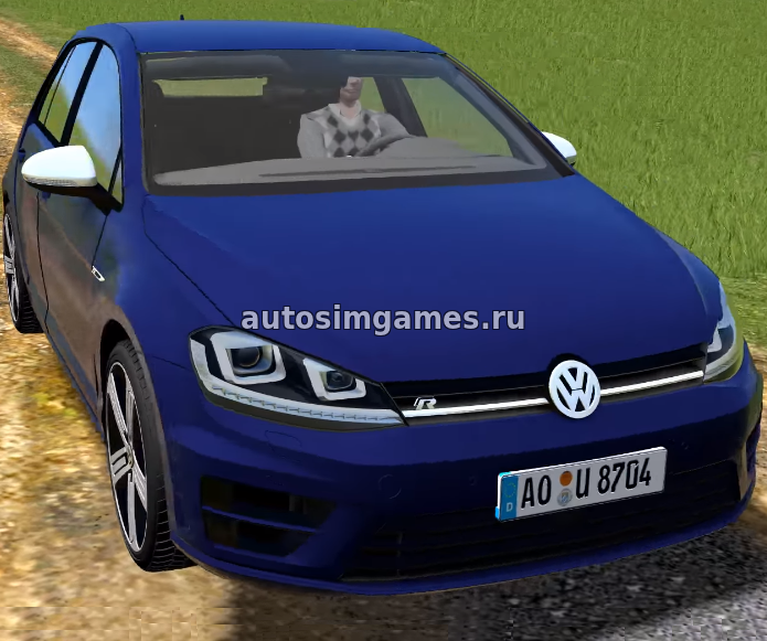 Volkswagen Golf R для City Car Driving 1.5.5