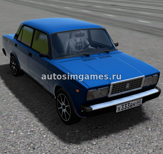 Ваз-2107 для City Car Driving 1.5.5