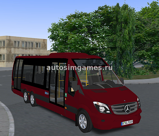 Mercedes-Benz Sprinter City 77 для Omsi 2