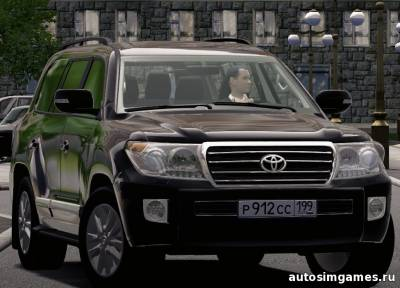 Toyota Land Cruiser 200 для city car driving 1.4.0
