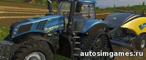 Newholland T8 435 SmartTrax V 1.0 для Farming Simulator 2015