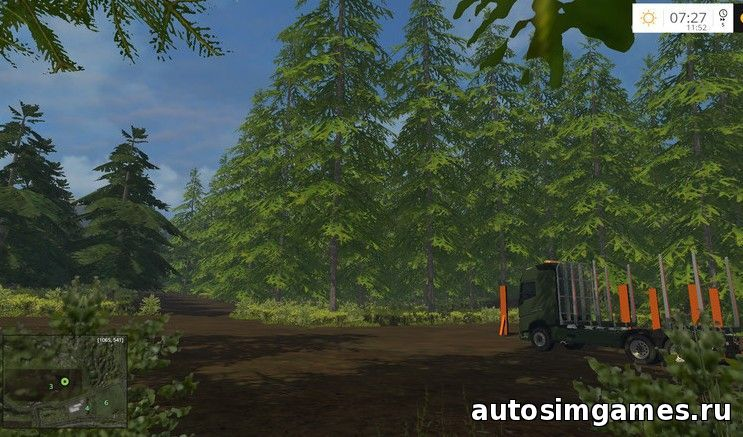 Alpental Forest Extreme Map V 1.4 для Farming Simulator 2015