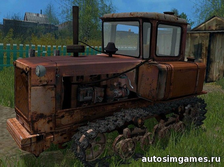 ДТ-75 для Farming Simulator 2015