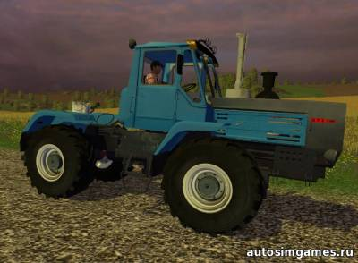 Трактор ХТЗ Т-150К для Farming Simulator 2015