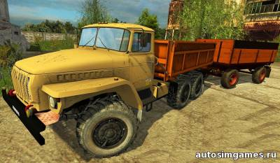 Мод Урал-5557 для farming simulator 2015