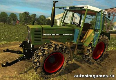 Мод Fendt Farmer 310 LSA для Farming Simulator 2015