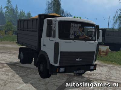 Мод Маз 5551 для farming simulator 2015
