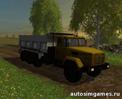 Мод КрАЗ 7140С6 для Farming Simulator 2015