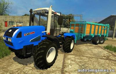 Мод ХТЗ-17222 для Farming Simulator 2015