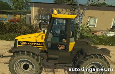 Мод JCB Fastrac 2140 для Farming Simulator 2015