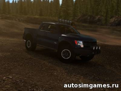 Ford F-150 SVT Raptor V2.2 для ETS2