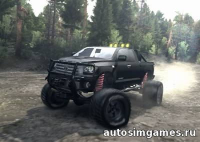 Toyota Tundra offroad для spin tires 2015