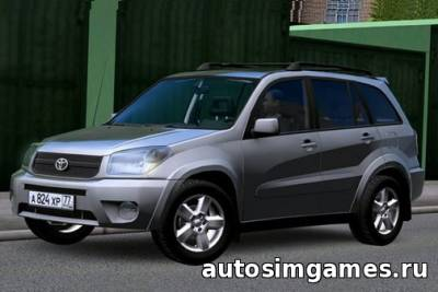 Мод Toyota RAV4 для City Car driving 1.4.1
