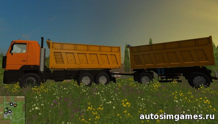 МАЗ-6501 для Farming Simulator 2015