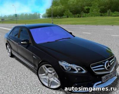 Mercedes-Benz E63 AMG для City Car Driving 1.5.0