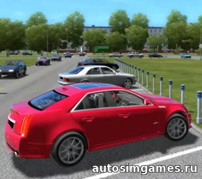 Cadillac CTS-V для City Car Driving 1.5.0