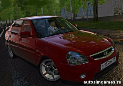 Лада 21723 Priora 1.6 Turbo для City Car Driving 1.5.0