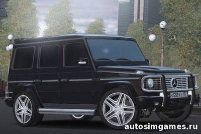 Mercedes-Benz G350 CDI - Гелендваген для City Car Driving 1.5.0