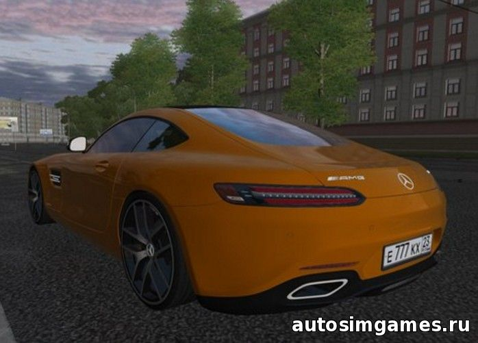 Mercedes-Benz AMG GT для City Car Driving 1.5.0