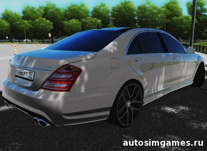 машина Mercedes-Benz S65 AMG для City Car Driving 1.5.0