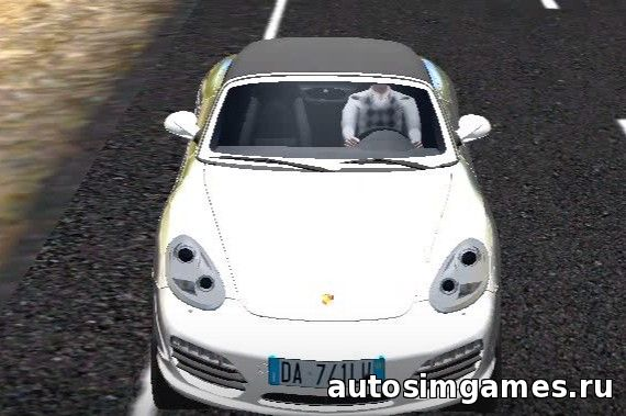 Мод машина Porsche Boxster S для City Car Driving 1.5.1