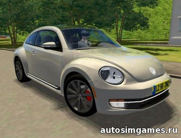 Мод машина Volkswagen Beetle для City Car Driving 1.5.0