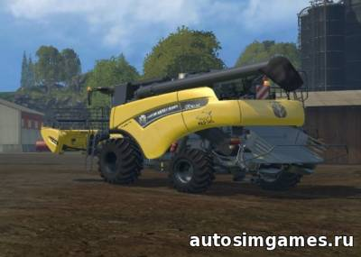 Пак комбайнов New Holland CR v1.2 для Farming Simulator 2015