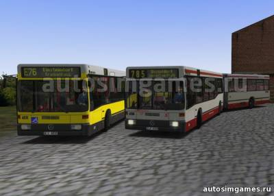 Mercedes Benz O405GN2 Beta для Omsi 2