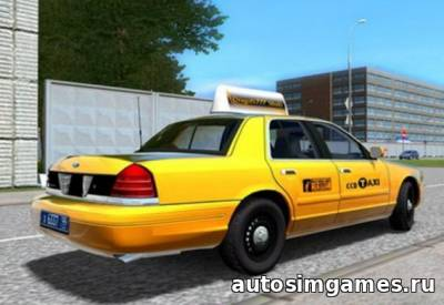 Ford Crown Victoria Такси для City Car Driving 1.5.0